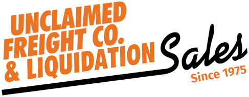 Unclaimed Freight Company and Liquidation Sales Logo